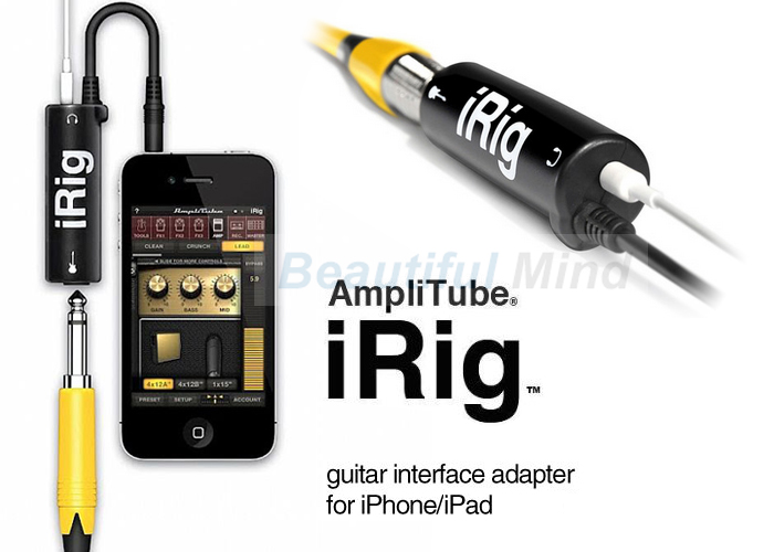 iphone guitar interface new amplitube irig interface guitar adapter for 6630