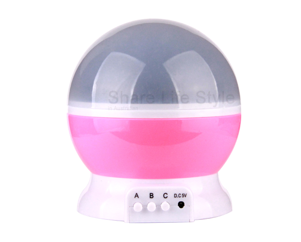 Led Rotating Star Projector Baby Night Light Nursery
